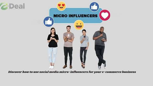 Discover how to use social media micro-influencers for your e-commerce business